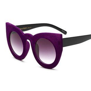 Trendy unisex velvet sunglasses  NHFY131212's discount tags