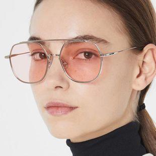 Fashion unisex Metallic sunglasses multicolored  NHKD131217's discount tags