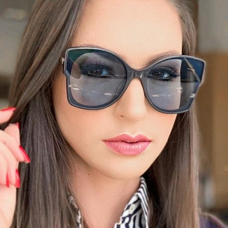 Fashion unisex marine piece sunglasses multicolor NHFY131231's discount tags