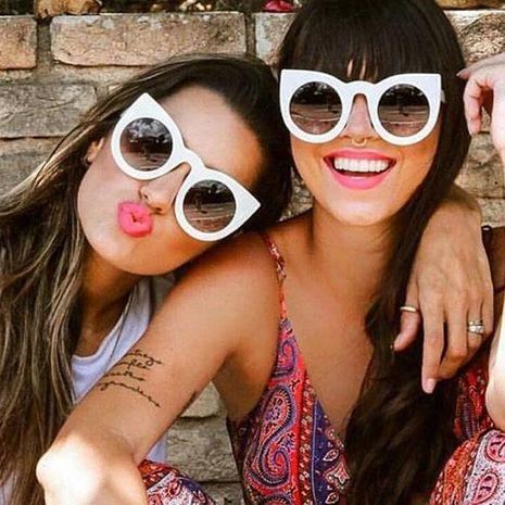 Fashion new cat eye PC sunglasses NHFY131250's discount tags