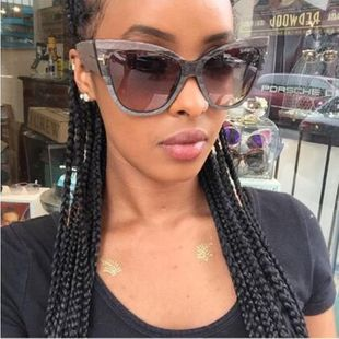Fashion big box cat eye sunglasses NHFY131249's discount tags