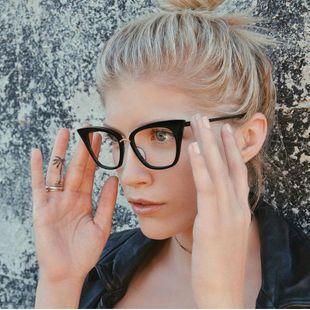 Fashion Cat Eye PC Sunglasses NHFY131247's discount tags