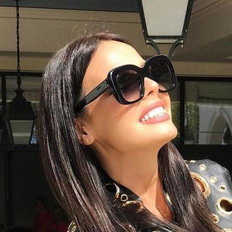 Fashion female big frame PC sunglasses NHFY131248's discount tags
