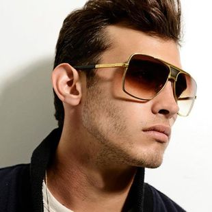 Fashion mens alloy-rimmed frame sunglasses NHFY131257's discount tags