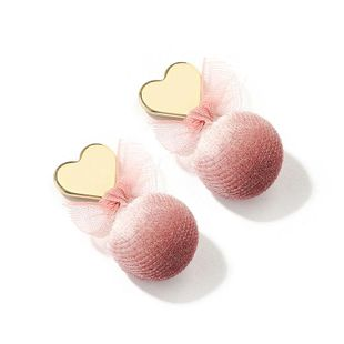Fashion Pink Love Sen Alloy Earrings NHLL131714's discount tags