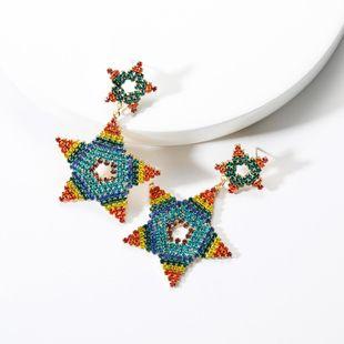 Love Acrylic Rhinestone Rhinestone Earrings NHJE131723's discount tags