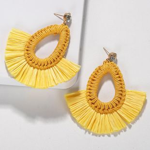 Wild woven dream color earrings NHJQ131736's discount tags