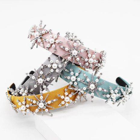 Womens Star Rhinestone Hair Band & Headbands NHWJ131743's discount tags