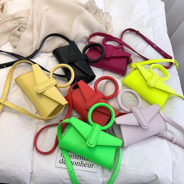 Fashion woman ring handbag shoulder bag multicolor NHPB132132