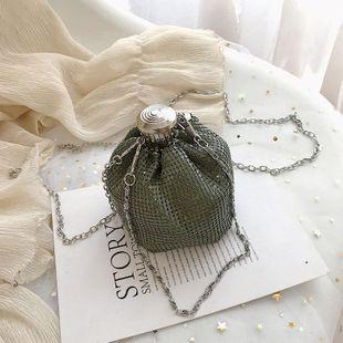 Fashion woman bucket crossbody bag shoulder bag multicolor NHTC132139's discount tags