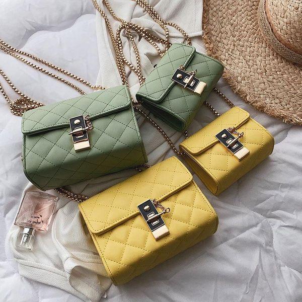 Fashion women ribbed crossbody bag shoulder bag multicolor NHTC132180