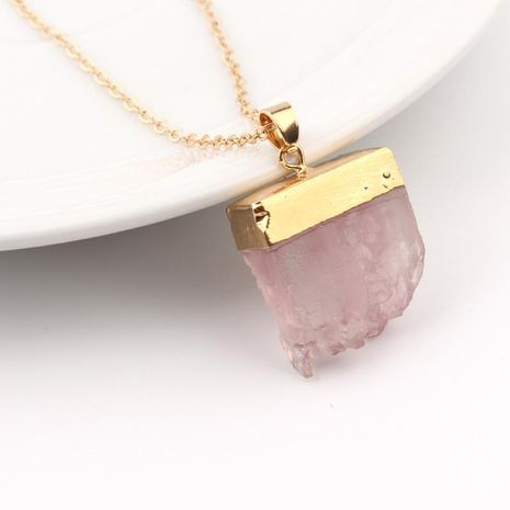 Simple and stylish natural tooth necklace NHGO132251's discount tags
