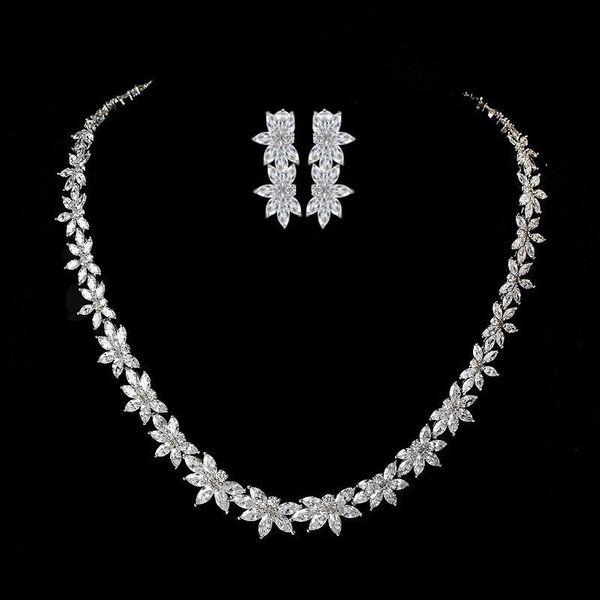 Luxury Fashion AAA Zircon Set NHTM132338