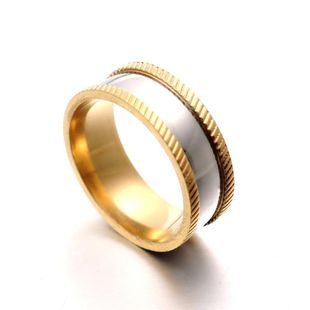 Fashion titanium steel embossed ring NHIM132393's discount tags