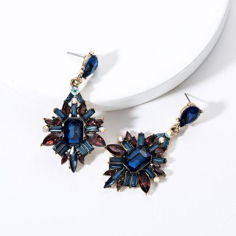 Fashion Rhinestone Studded Full Rhinestone Earrings NHJE132535's discount tags