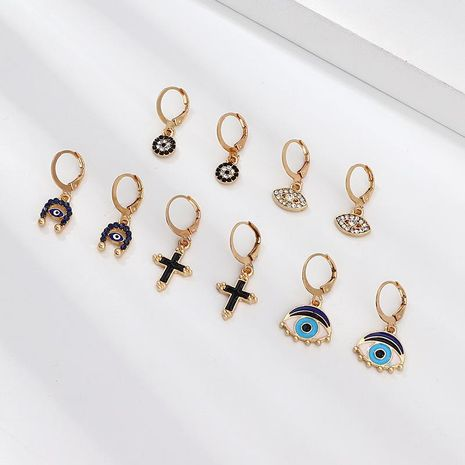 Creative alloy drop earrings NHNZ132555's discount tags