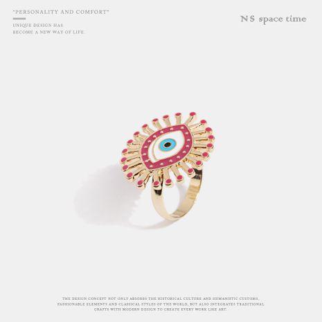 Fashion creative drop oil ring ring NHQS132559's discount tags