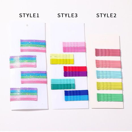 Fashion color candy color small hairpin NHNZ132604's discount tags