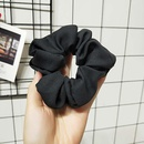 Korean version of the net color solid color elastic band fabric hair ring NHOF132600