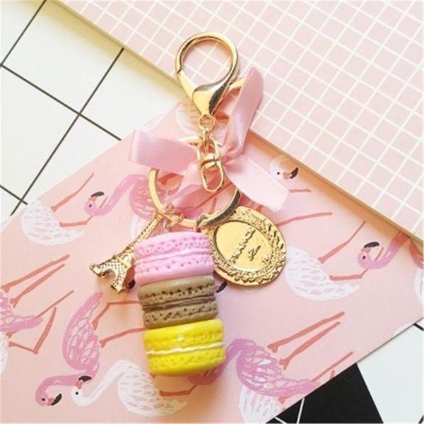 Cute tag tower tassel bag chain key chain NHCB138706