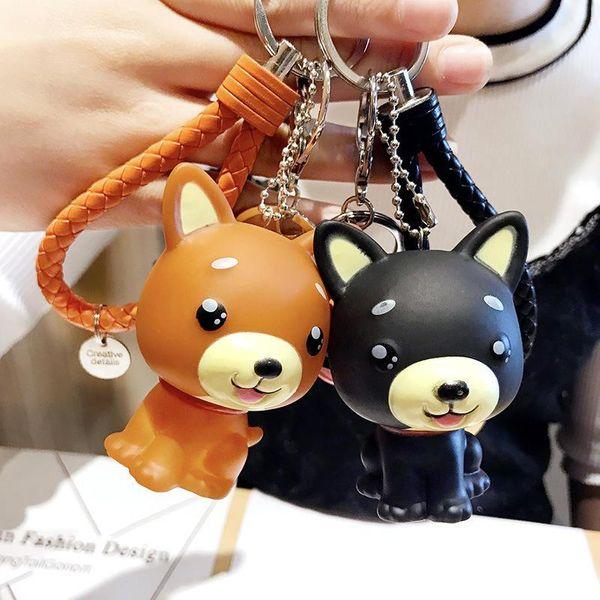 Cartoon dog bag chain key chain NHCB138756