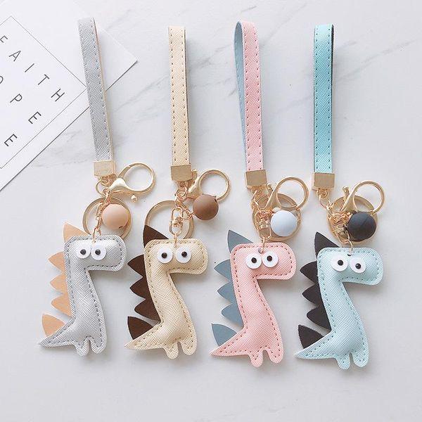Cartoon little dinosaur bag chain key chain NHCB138761