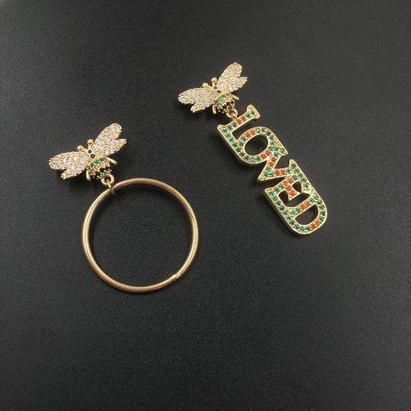 Womens Geometric Copper Earrings NHWK138788