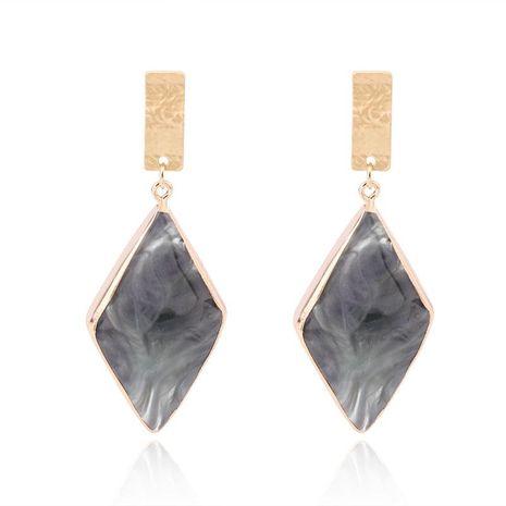 Fashion Charm Exquisite Stud Earrings Rhinestone Grey Earrings NHGO138918's discount tags