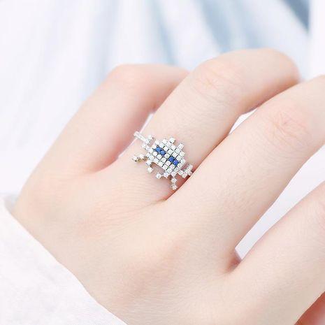Fashion Astros Ring Micro-Rhinestone Ring NHDO139001's discount tags