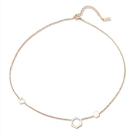 Womens star-plated titanium steel Necklaces NHOK139008's discount tags