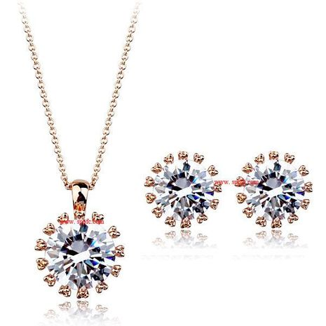 Womens Plating Alloy Other Jewelry Sets NHLJ139015's discount tags