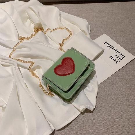 Fashion peach heart shoulder bag NHXC141448's discount tags