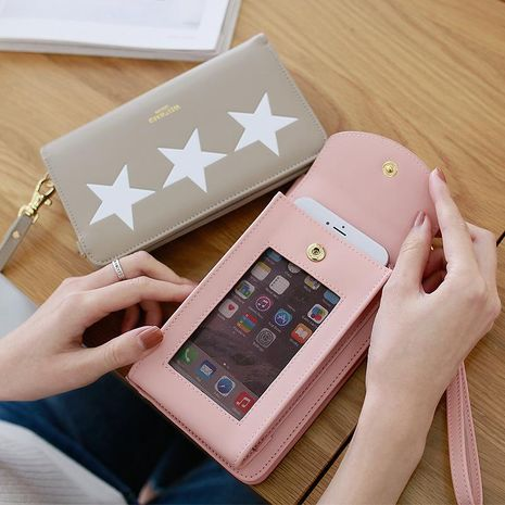 Five-pointed star fashion Messenger bag NHNI141485's discount tags