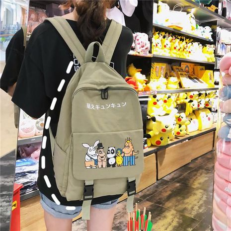 Fashion cartoon vintage backpack NHXC141574's discount tags