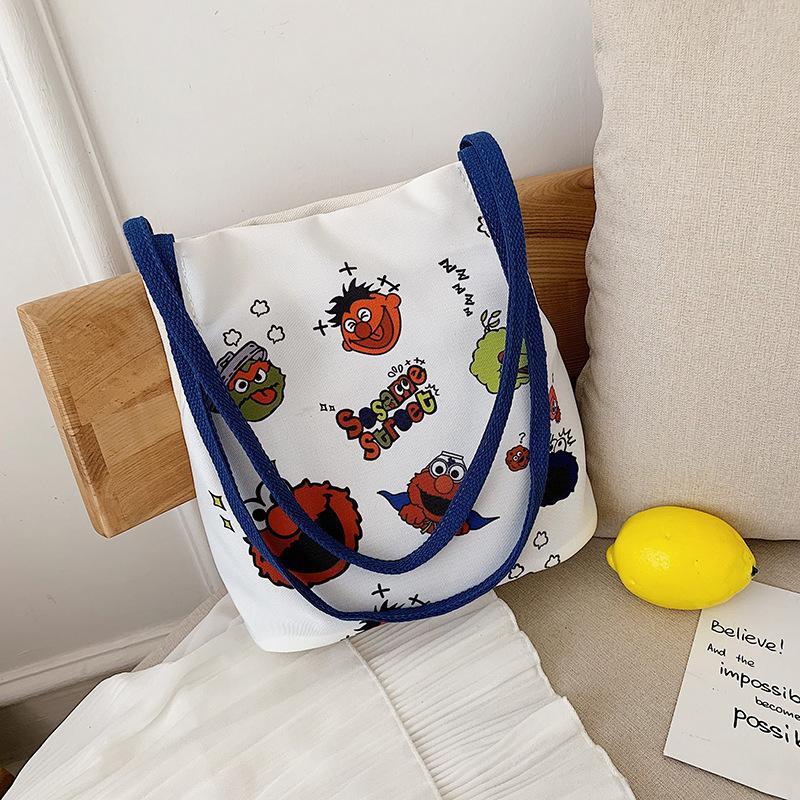 Korean version of the wild canvas ins shoulder bag NHTC141586