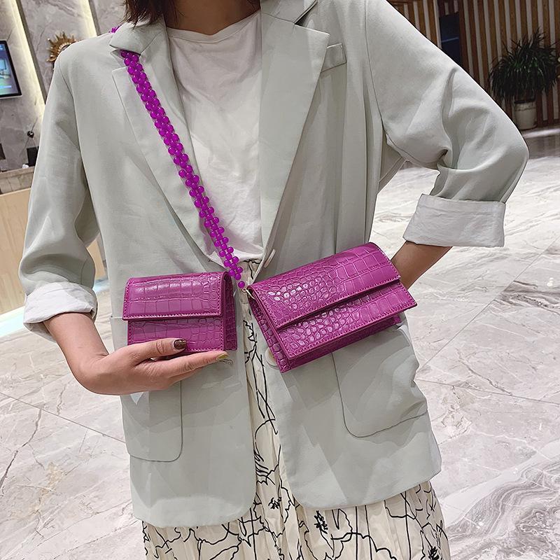 Fashion stone crossbody bag NHPB141609