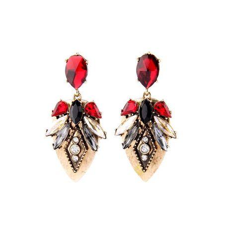 Vintage wild ruby earrings NHQD141631's discount tags