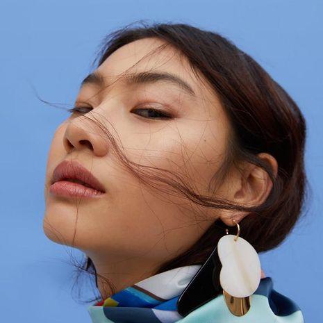 Fashion creative trend Alec earrings NHJQ141642's discount tags