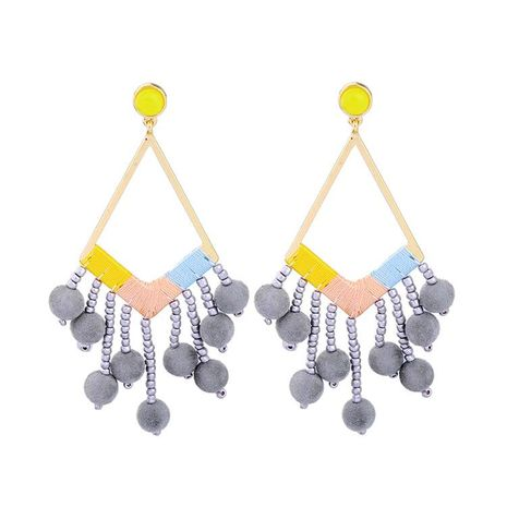 Womens Rhinestone Micro Inlay Alloy Earrings NHQD141656's discount tags