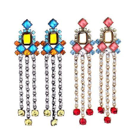 Wild tassels and generous ladies earrings NHQD141688's discount tags