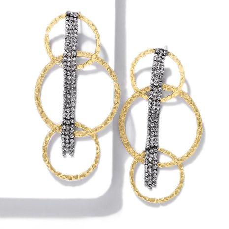 Fashion long chain ring earrings NHJQ141716's discount tags