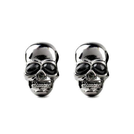 Fashion locomotive wind hoe head alloy earrings NHQD141729's discount tags
