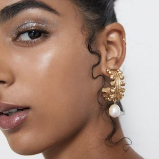 Pendientes de perlas en forma de océano con tendencia a la moda NHJQ141733's discount tags