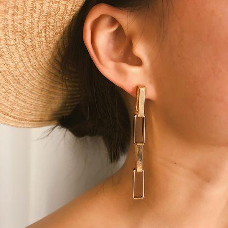 Fashion square word tassel earrings NHXR141800's discount tags