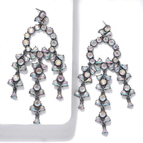 Womens Geometric Rhinestone Earrings NHJQ141819's discount tags
