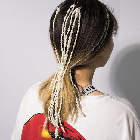 Temperament Beads Creative Tassel Hair Accessories NHXR141823's discount tags