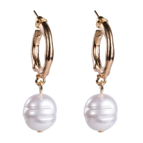 Alloy ring beads earrings NHJE141917's discount tags