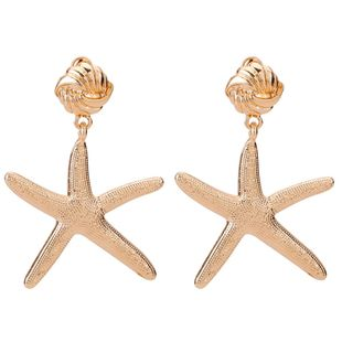 Fashion starfish alloy earrings NHJE141922's discount tags