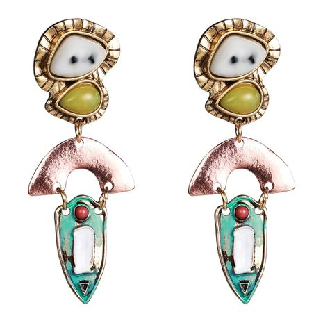 Fashion alloy resin earrings NHJE141981's discount tags