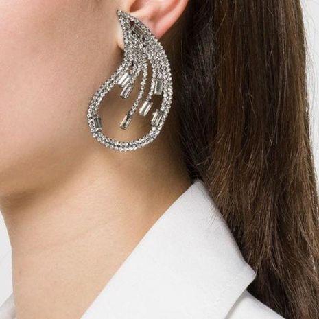 Fashion Acrylic Rhinestone Stud Earrings NHJE142055's discount tags